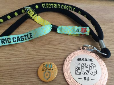 experiența de eco ambassador electric castle 2016