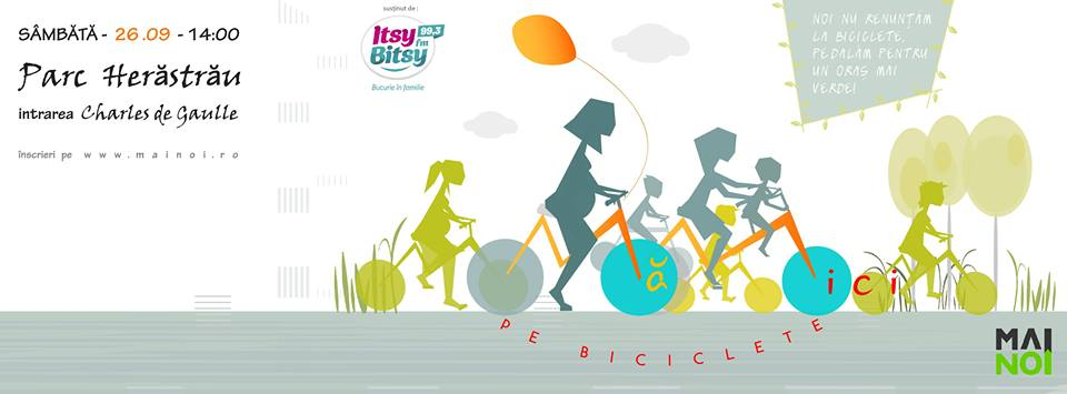 îs voluntar la mămici pe biciclete – ediția I